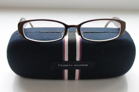Nowe oryginalne oprawki okulary Tommy Hilfiger z etui GRATIS