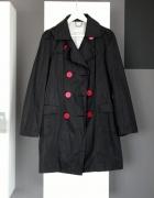 płaszcz trencz wiosna jesień wiosenny jesienny reserved płaszczyk klasyczny bawełniany