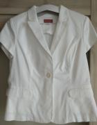 biały żakiet marynarka 42...