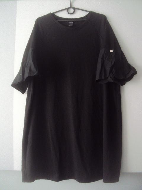 trapezowa sukienka tunika