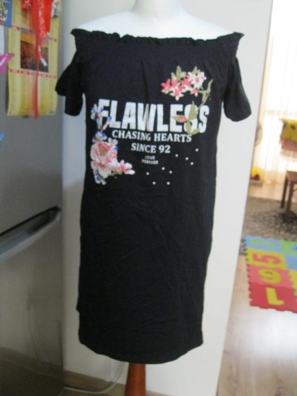 sukienka hiszpanka RIVER ISLAND M L czarna