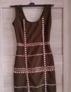 Sukienka z dzetami...