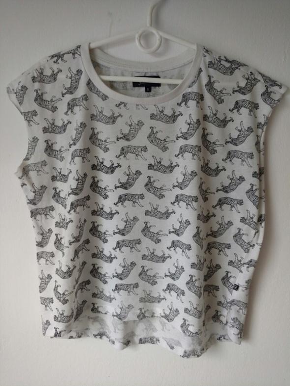 Koszulka z krótkim rękawem w tygrysy Reserved r S...