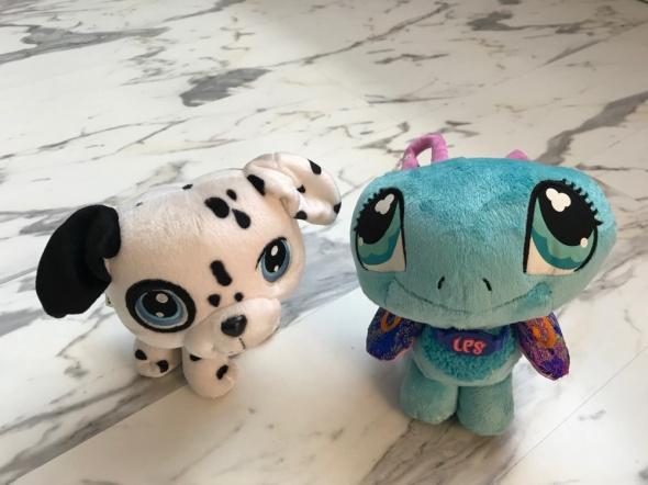 oryginalne maskotki Littlest Pet Shop LPS