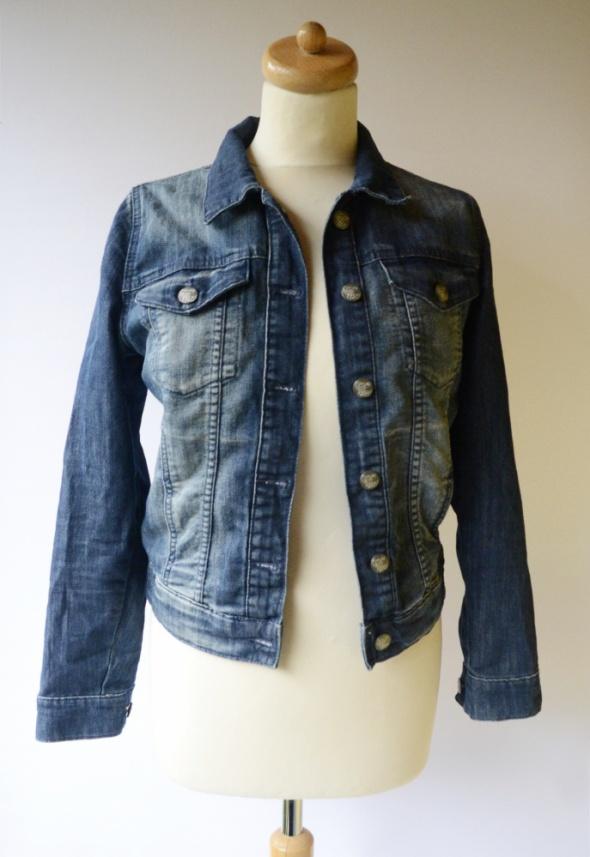Kurtka Katanka Dzinsowa M 38 Never Denim Jeansowa Jeans