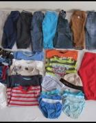 Zestaw ubranek chłopięcych 18 do 24 miesięcy rozmiar 92 SPODNIE...