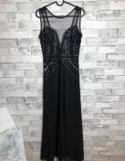 Molly Bracken Sukienka Maxi Zdobienia 34 XS...