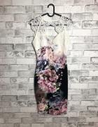 Lipsy Sukienka Kwiatowy Wzór 36 S...