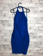 Lipsy Sznurowana Sukienka Mini 34 XS