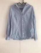 koszula błękitna print marks&spencer M L...