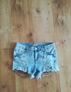 Modne spodenki Jeans dziury nowe m...