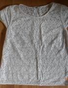 biała koronkowa bluzeczka 4244
