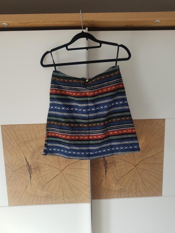 Spódnice kolorowa spódnica