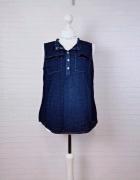 16 44 2XL XXL Weyton Plus Size Niebieska bluzeczka...