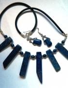 Lapis lazuli naszyjnik i koczyki...