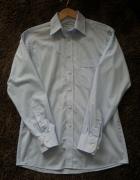 Błękitna koszula Wólczanka rozmiar M niebieska...