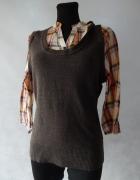 George Nowy elegancki sweterek 2w1 40 42...