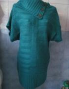Sweter w kolorze morskiej zieleni...
