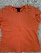 Pomarańczowa modna koszulka...