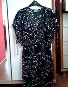 Czarno biała sukienka Wallis...
