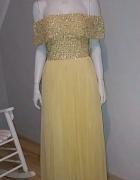Sukienka cytrynowa Maya...
