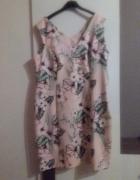 Różowa sukienka rozmiar 48...