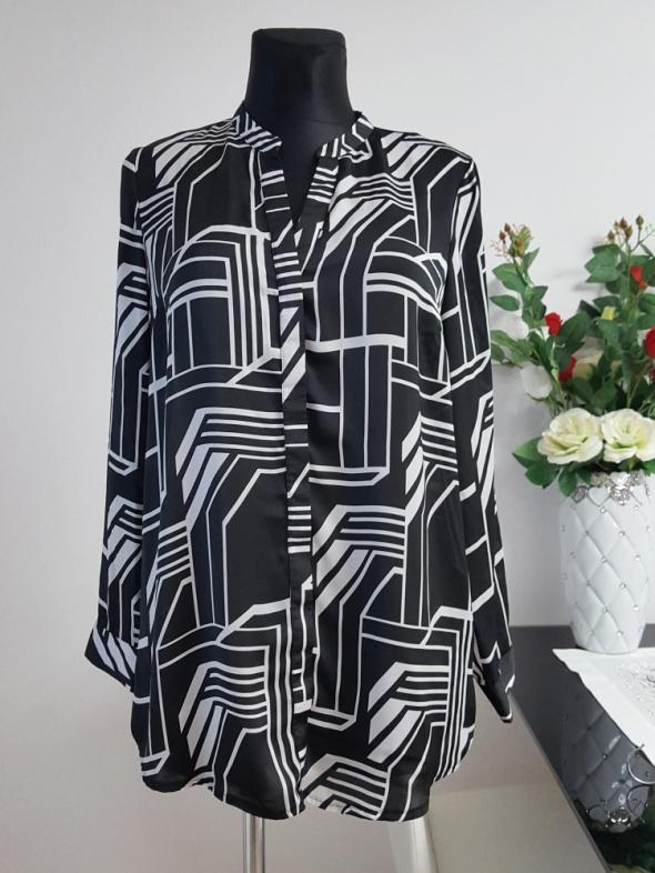 czarno biała bluzka Per Una