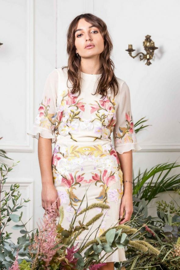 Suknie i sukienki Sukienka Hope&Ivy Marie Haftowana 36