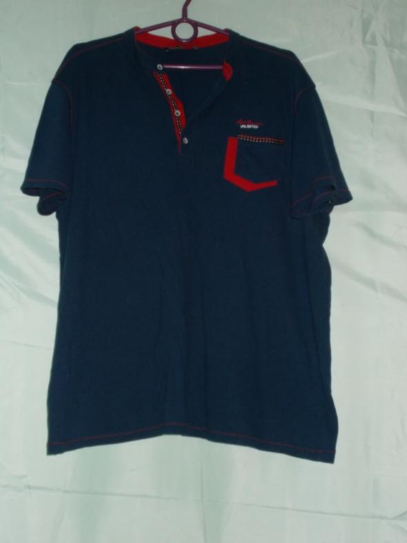 Bluza z krótkim rękawembluzkabluzka XXXL 42 44 46