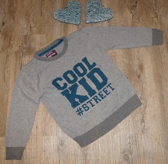 Sweterek sweter chłopiec Rebel rozm 116