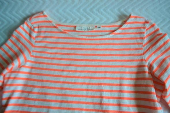 Bawełniana bluzka 38 luźny fason H&M