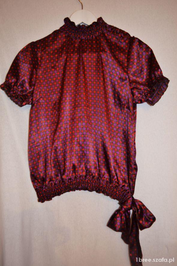 Wyjściowa satynowa bluzeczka 36