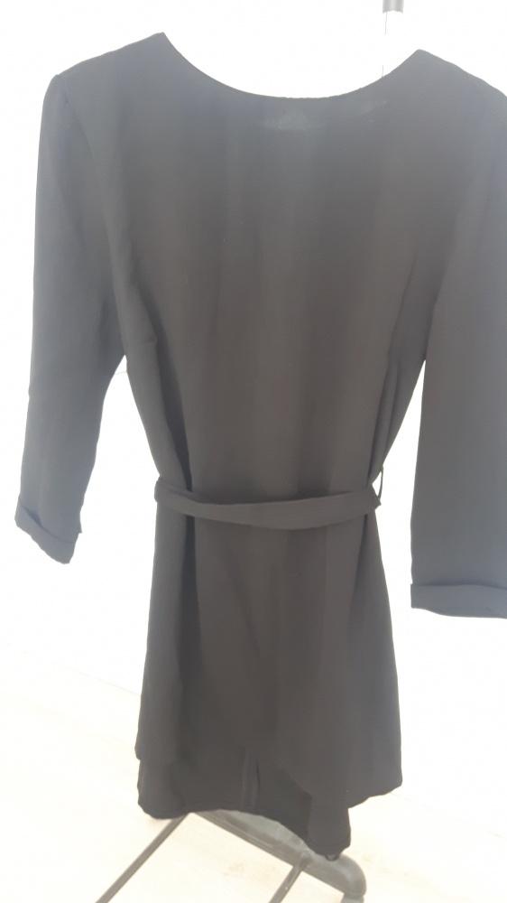 Suknie i sukienki Czarna sukienka Stradivarius