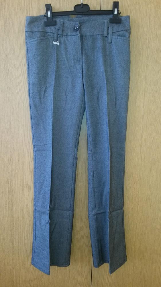 Szare eleganckie spodnie XS S