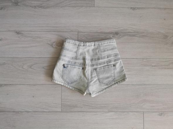 Szorty jeans spodenki Bershka XS S M sexy wyższy stan