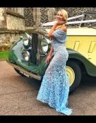 Sukienka Jarlo Henna Blue rozmiar 36...