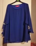 bluzka w chabrowym kolorze...
