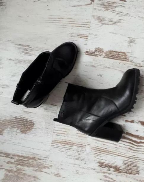 Półbuty botki skóra BUFFALO 40 JAK NOWE