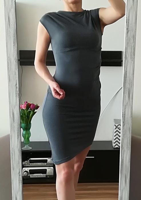 Topshop asymetryczna sukienka XS S