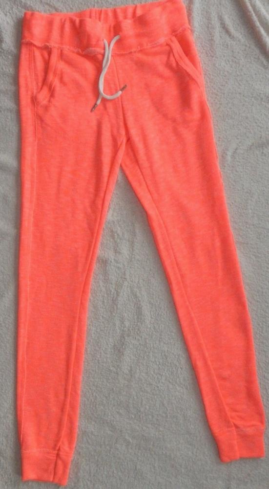 Spodnie dresowe SINSAY 36 neonowy pomarańcz