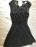koronkowa sukienka H&M 36