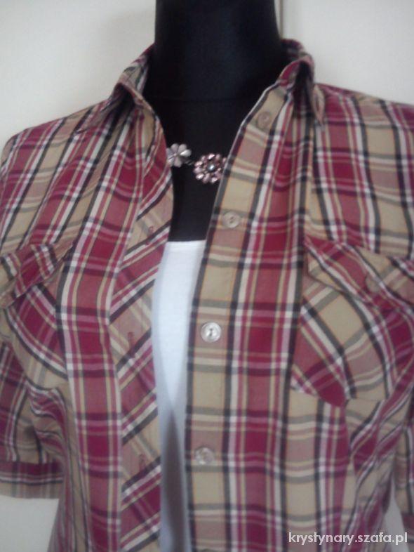 Koszula krata trzy kolory