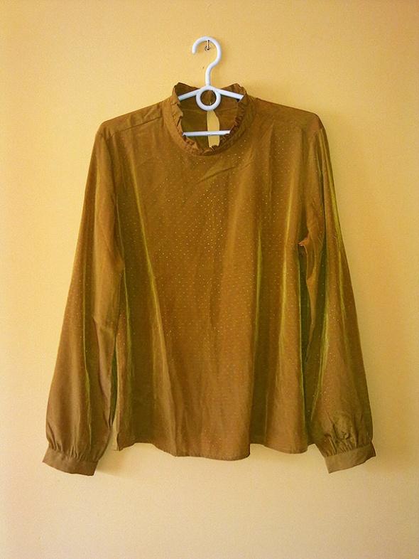 Bluzka musztardowa Reserved...