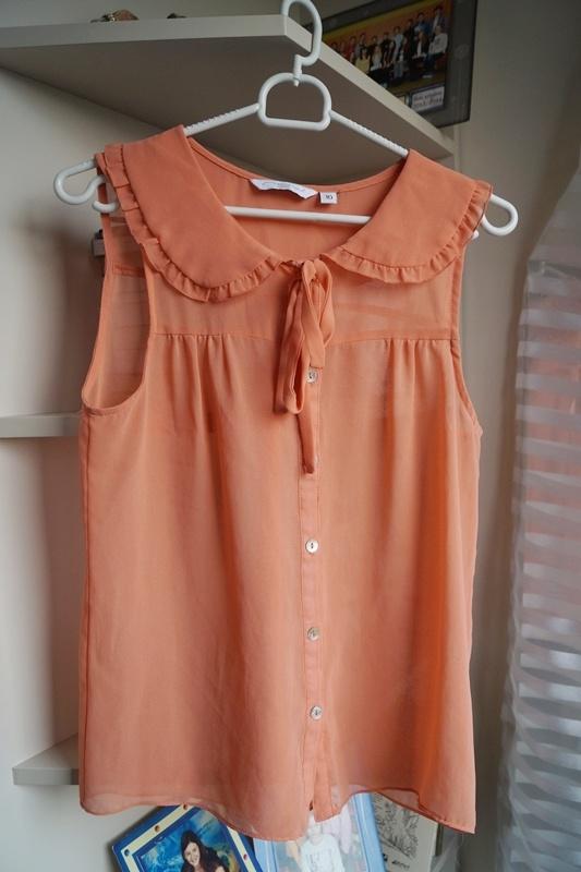 Pomarańczowa mgiełka New Look M