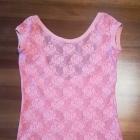 Koronkowa bluzka marki Zara