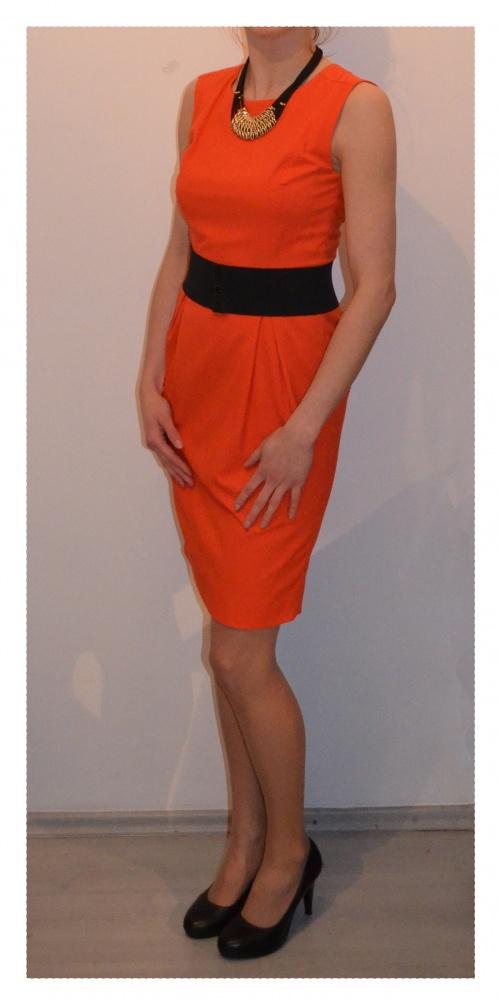 Sukienka pomarańczowa AGGI rozmiar 36