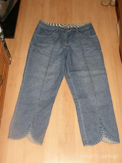 Spodnie Jeansowe rybaczki rozm 40 L