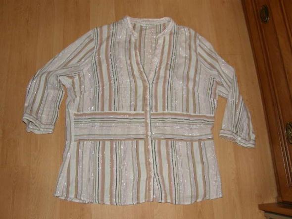 GEORGE Urocza bluzka w paski dla puszystej 46...