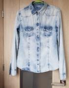 Koszula jeansowa cieniowana...