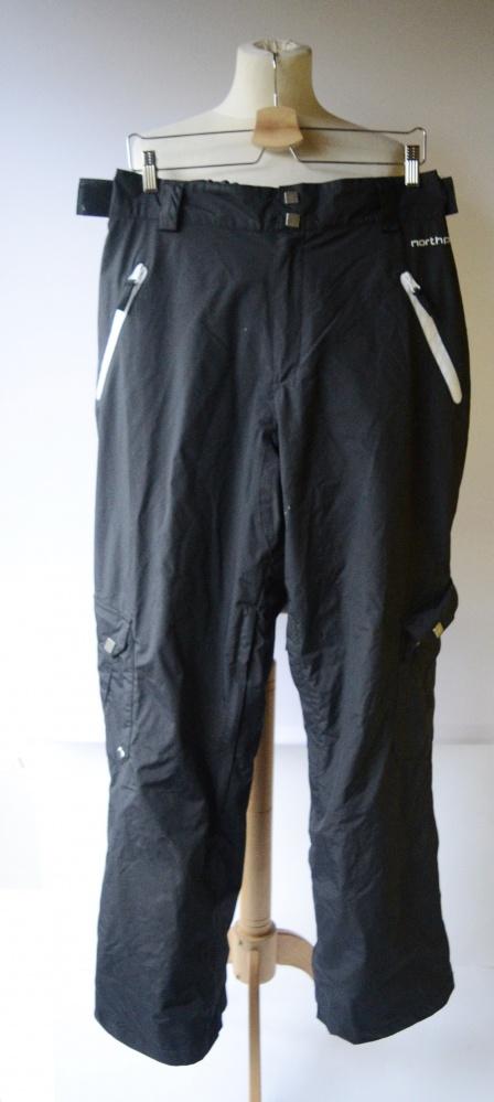 Spodnie Narciarskie L 40 Northpeak Wodoodporne Czarne